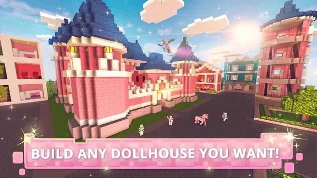 Dollhouse Builder Craft: Doll House Building Games PC screenshot 1