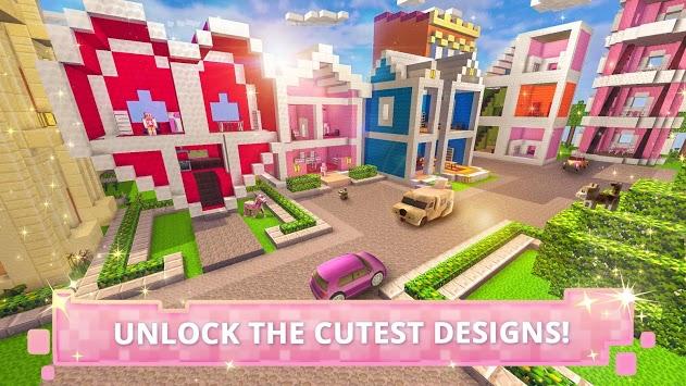 Dollhouse Builder Craft: Doll House Building Games PC screenshot 2