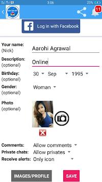 Girls Live Chat - Chat Date Meet pc screenshot 2