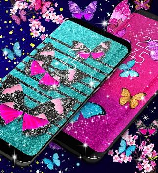 Glitter butterfly live wallpaper pc screenshot 2