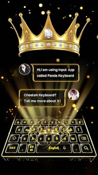 3D Golden Crown Keyboard pc screenshot 1