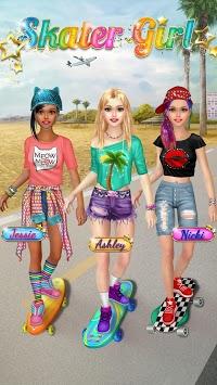 Skater Girl Dress Up and Makeover pc screenshot 1