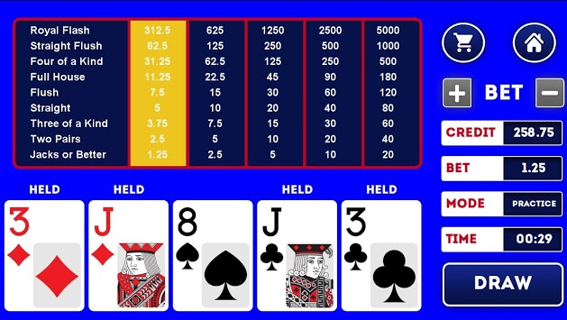 Video Poker Trainer PRO pc screenshot 2