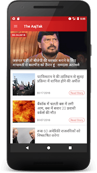 The Aaj Tak Live App PC screenshot 1
