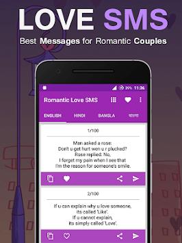 Romantic Love SMS 2018 pc screenshot 1