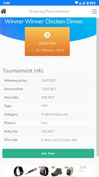 Gaming Tournament --Bangladesh pc screenshot 2