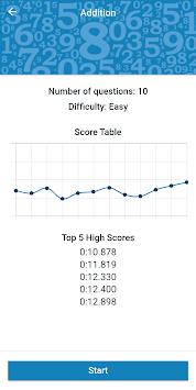 Math Workout - Math Games pc screenshot 1
