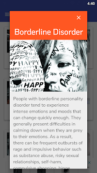 PD Test - Personality Disorders Test pc screenshot 1