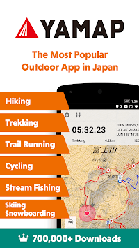 YAMAP - Social Trekking GPS App - pc screenshot 1