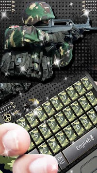 Camo Army Keyboard pc screenshot 1