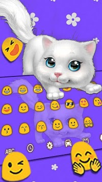Cute Fluffy Cat Keyboard pc screenshot 1