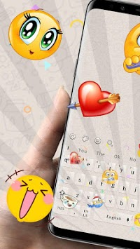 Smiley Emoji Keyboard Theme - Animoji & Stickers pc screenshot 1