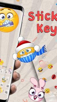 Smiley Emoji Keyboard Theme - Animoji & Stickers pc screenshot 2