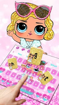 Lol Princess Glitter Doll Keyboard pc screenshot 2