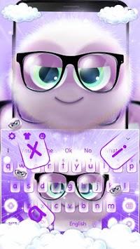 Cute Fluffy Kawaii Kitty Keyboard theme pc screenshot 1