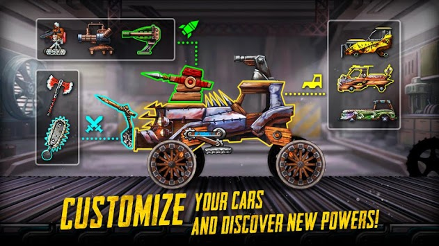 War Cars: Epic Blaze Zone pc screenshot 2