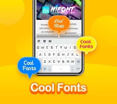 Kika Keyboard 2019 - Emoji Keyboard, Emoticon, GIF pc screenshot 2