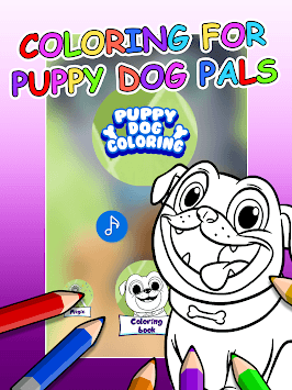 Puppy Dog Coloring Book pc screenshot 1