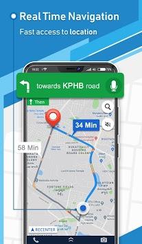 Offline GPS - Maps Navigation & Directions Free pc screenshot 1