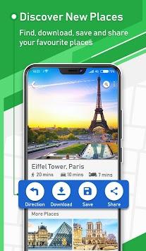 Offline GPS - Maps Navigation & Directions Free pc screenshot 2