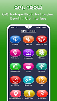 GPS, Tools - Maps, Measure, Explore pc screenshot 1