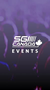 SGI CANADA Events pc screenshot 1