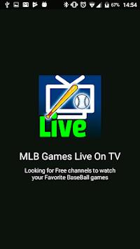 MLB Games Live on TV - Free pc screenshot 1