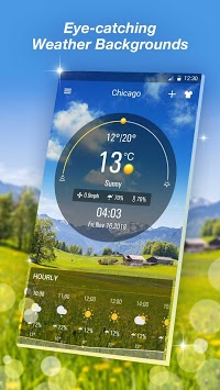 Live Weather Forecast App pc screenshot 1