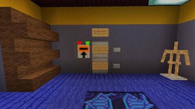 Map Hello Neighbor for MCPE (Minigame Horror!) pc screenshot 1