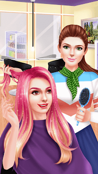 Celebrity Hair Style SPA Salon pc screenshot 1