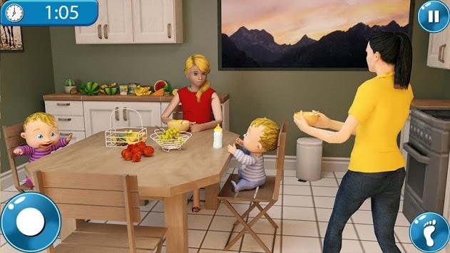 Real Mother Simulator 3D New Baby Simulator Games pc screenshot 1