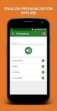 Pronunciation pc screenshot 1