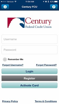 CFCU CC App pc screenshot 1