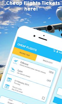 Cheap Flights Tickets app pc screenshot 1