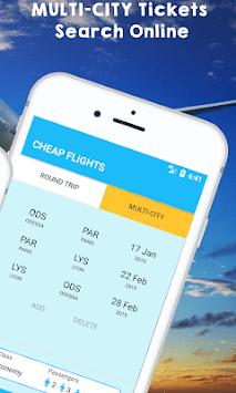 Cheap Flights Tickets app pc screenshot 2