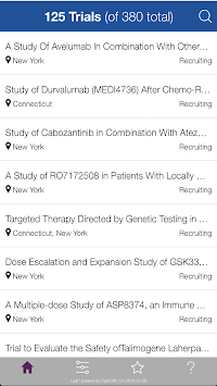 Fight CRC Late-Stage MSS CRC Trial Finder pc screenshot 1