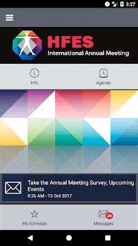 HFES Annual Meeting pc screenshot 2
