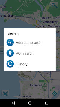 Map of Vancouver offline pc screenshot 1