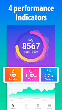 Pedometer for walking - Step Counter pc screenshot 2