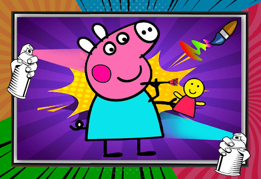 Peppo Pig Coloring Book pc screenshot 1