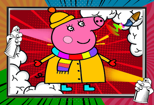 Peppo Pig Coloring Book pc screenshot 2