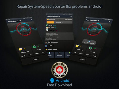 Repair System & Booster RAM (Fix Problems Android) pc screenshot 1