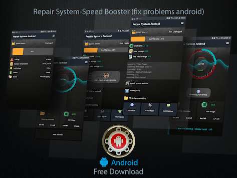 Repair System & Booster RAM (Fix Problems Android) pc screenshot 2