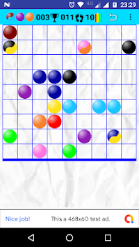 Bubbles in Line pc screenshot 1
