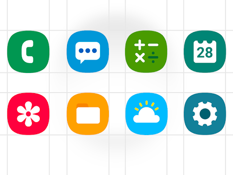 One UI - icon pack for PC Windows or MAC for Free