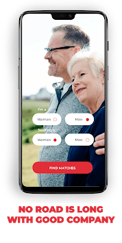 Senior Dating Sites - Meet Mature Local Singles pc screenshot 1