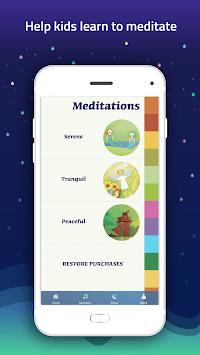 Meditation for kids - calmness, mindfulness, sleep pc screenshot 1