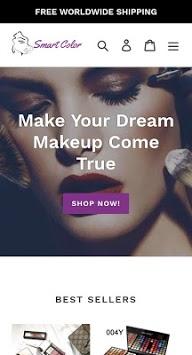 SmartColor - Natural Beauty Cosmetics PC screenshot 1