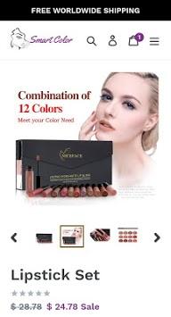 SmartColor - Natural Beauty Cosmetics PC screenshot 2