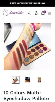 SmartColor - Natural Beauty Cosmetics PC screenshot 3